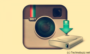 Backup Instagram