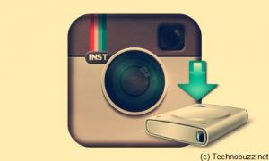Backup Instagram