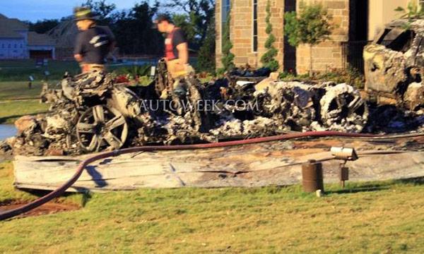 Fisker rep defends its hybrid sedan in garage fire aftermath
