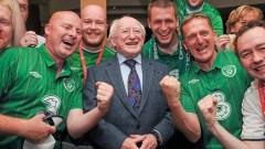 Irish fans EURO 2012