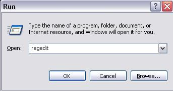 regedit windows registry