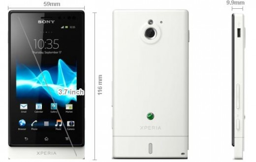 Sony Xperia Sola MT27i Pepper