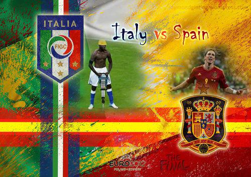 UEFA Euro 2012 Final Italy vs Spain
